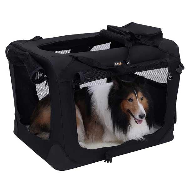 FEANDREA キャリーバッグ 中大型犬 70×52×52cm