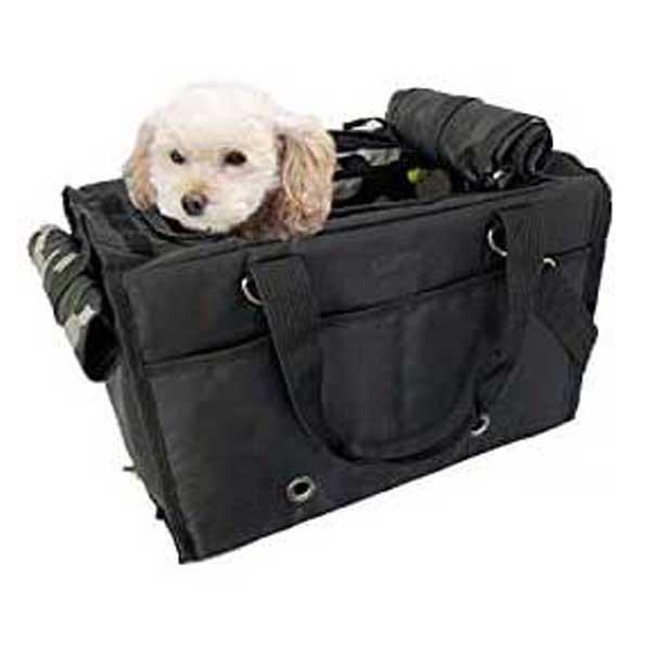 Hanna Hula 消臭 BOXキャリーバッグ ボックス ペット 軽量 犬 トート ショルダー ブラック