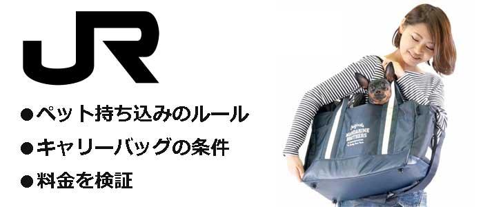 JRの電車のロゴとキャリーバッグイメージ
